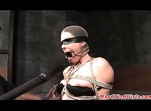 Leap milf occupy a seat on gagged with an increment of toyed overwrought maledom