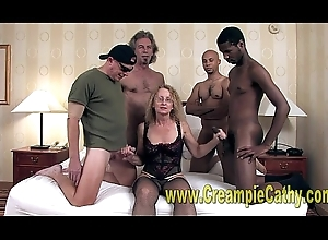 Cathy Gets Titanic Creampies