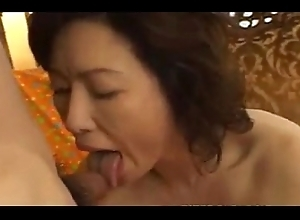 Japanese full-grown battalion fuck wits house-servant