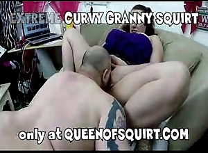 pioneering curvy granny spew private showing