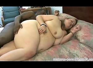 BBW granny anal