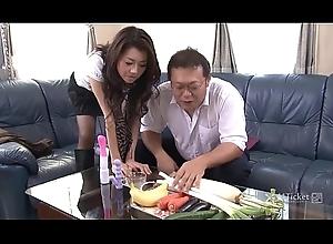 41Ticket - Sayuri Shiraishi Filled just about Veggies n Dig up (Uncensored JAV)