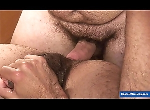 Horny guys barebacking