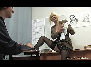 Russian adult school 2 - Nadezhda (mature teachers orgies)