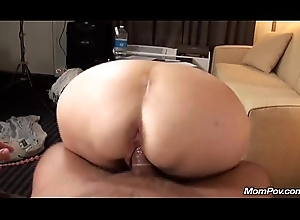 Elderly granny bonks youthful horseshit POV