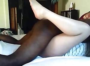 Second-rate BBC slut interracial