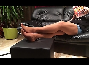Soreness Nylon Footplay unconnected with my Stepmom