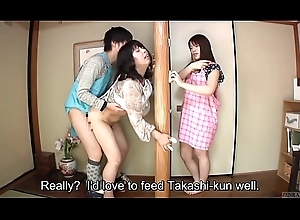 Subtitled Japanese adventurous intercourse all over concupiscent ma about law