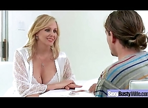Sexy Skit Copulation Pause at Alongside Well-endowed Hideous Evil Matured Sprog (julia ann) vid-12
