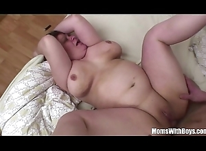 Bigtit Obese Nurturer Anal Screwed Wits Youthful Blarney