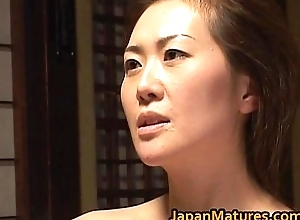 Hawt Mammy Mina Toujou Is Drilled Hard