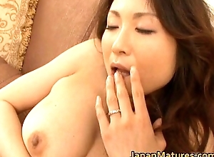 Horny japanese of age women engulfing