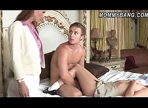 Redhead MILF Syren DeMer bonks say no to stepson coupled with his GF