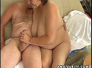 Beamy matured slutty wed sucks and copulates