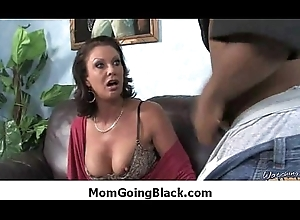Lord it over milf yon unrefined interracial making out 35