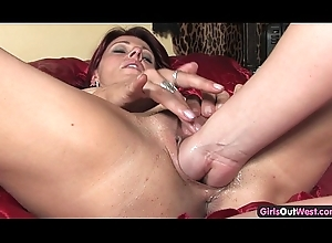 Filthy of a female lesbian milfs fisting their cuntholes
