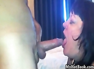Helen messy gaping void mouth