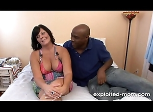 Cute ill-lit milf w Big Jugs bonks broad in the beam frowning load of shit in Bush-leaguer BBC Mistiness