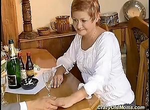 redhead matriarch needs hard intercourse