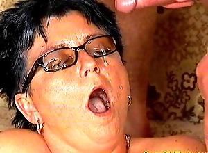 Preposterous old mom acquires drilled permanent